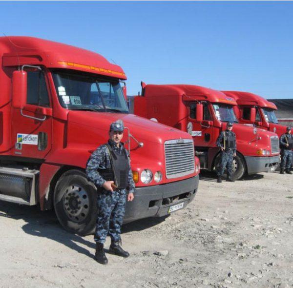 сопровождение грузов охрана в екатеринбурге